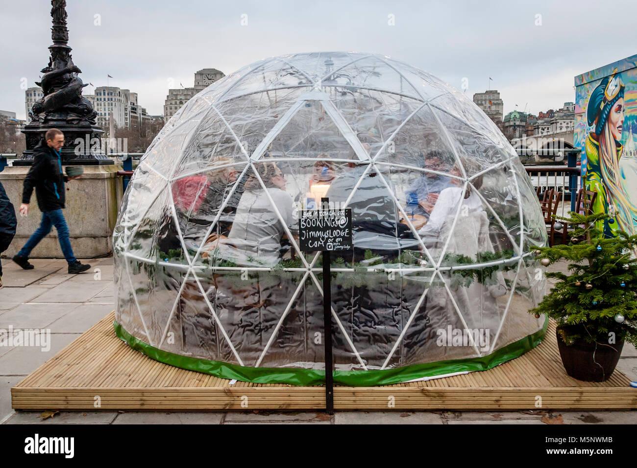 Snow Globe Restaurant London