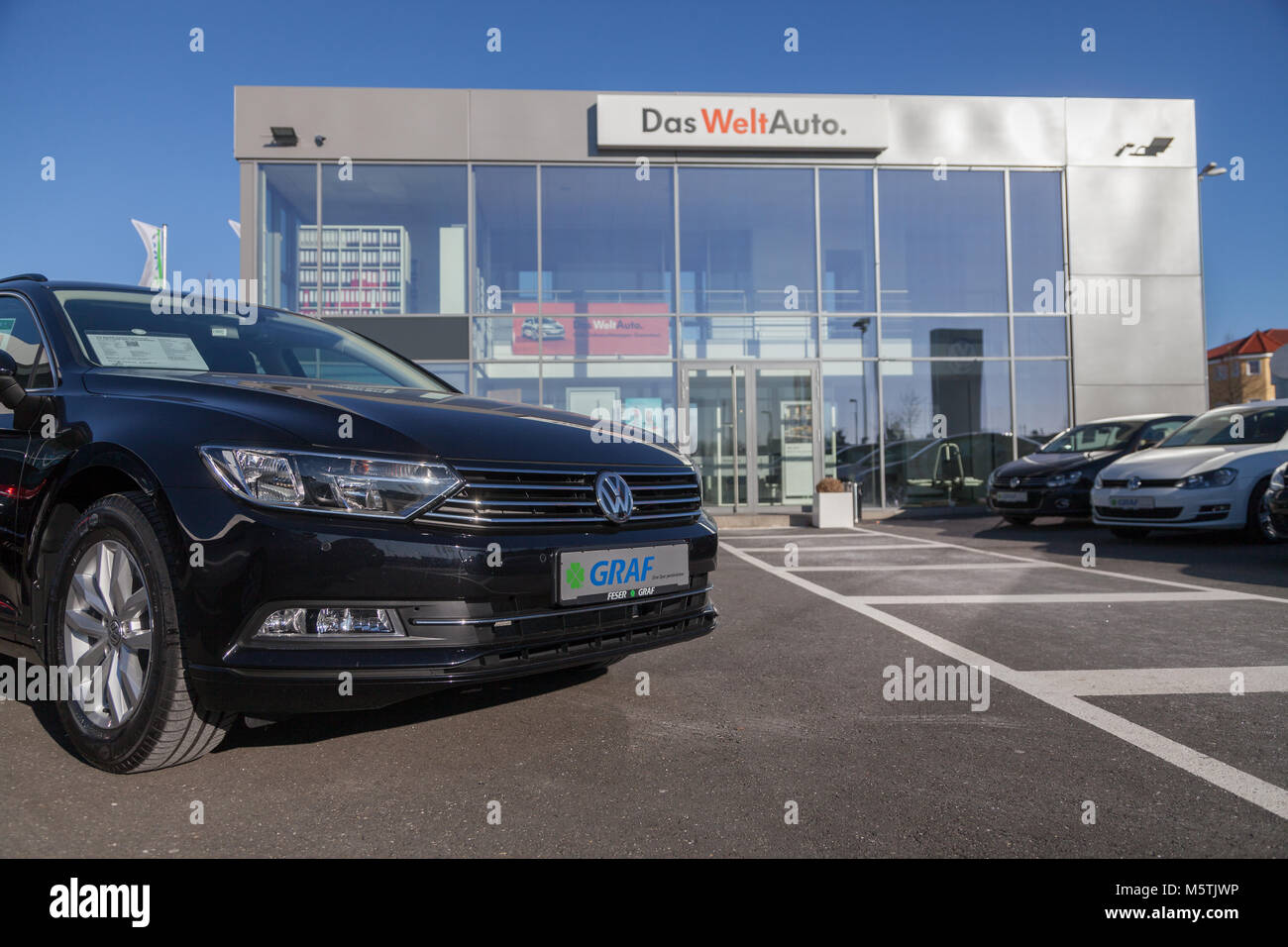 Volkswagen Diesel Emissions Scandal Stock Photos