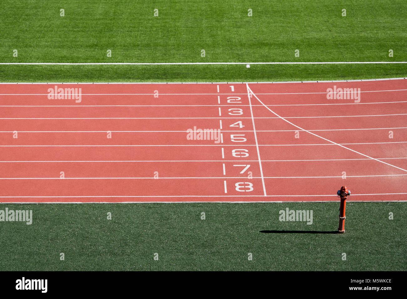 Runner First Track Stock Photos & Runner First Track Stock ...