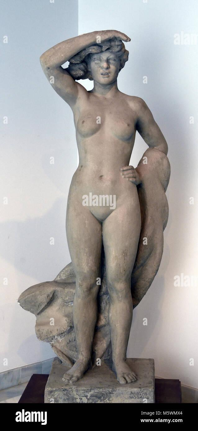 Gades 1948 Juan Luis Vassallo, Parodi, (Cádiz 1908 - Madrid 1986), sculptor and carver, Spanish,Spain, 20th,century, - Stock Image