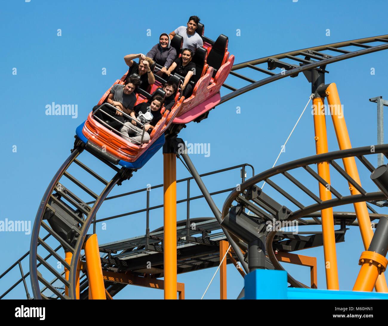Park Vienna Va: Amusement Park Vienna Prater Stock Photos & Amusement Park