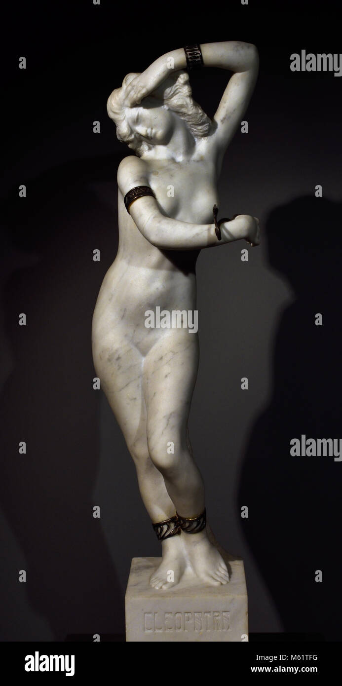 Cleopatra 1900 Pablo Emilio Gargallo (1881 – 1934) was a Spanish sculptor and painter Aragonese avant-garde.( Born - Stock Image