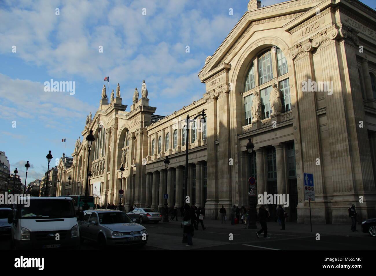 At gare du nord stock photos at gare du nord stock for Gare du nord paris