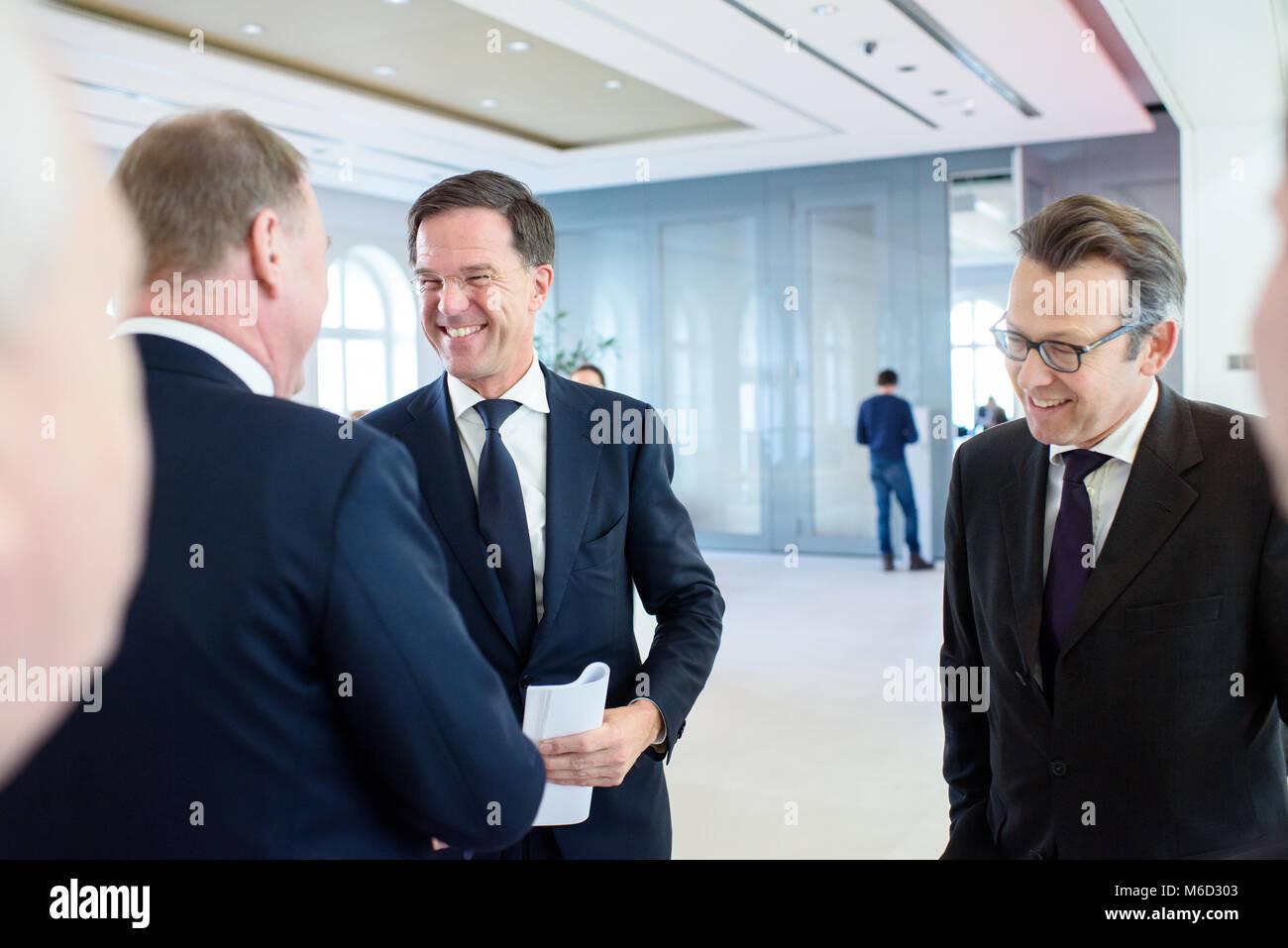 Maurits Hendriks Netherlands Prime Minister Mark Rutte L: Bertelsmann Stock Photos & Bertelsmann Stock Images