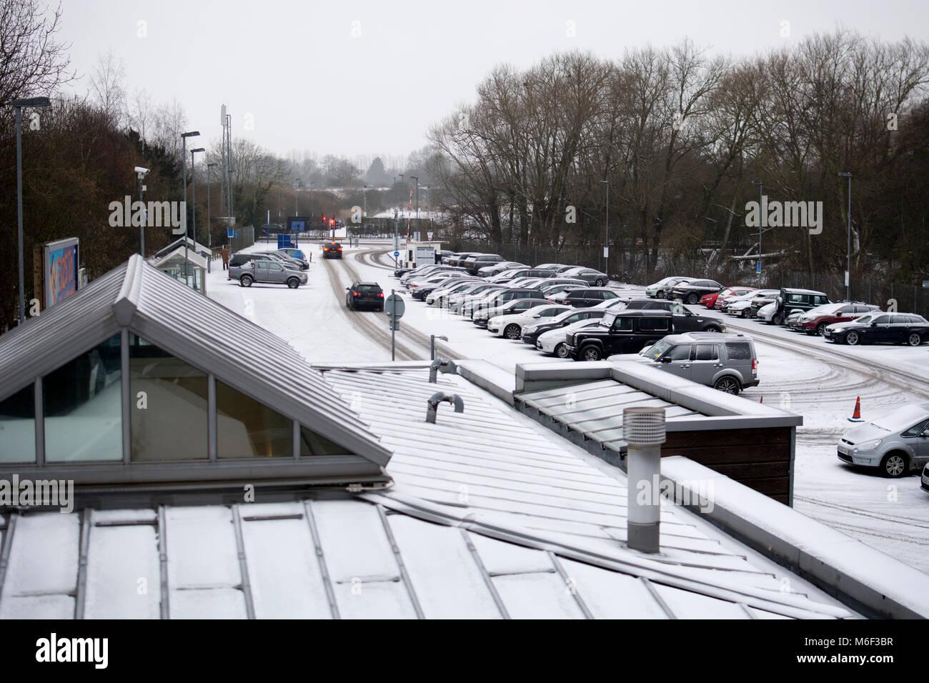 Luton Parkway Train Station Car Park
