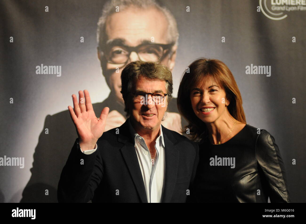 Celebrities attend Opening night of Lumiere Film Festival, Lyon, France - Stock Image