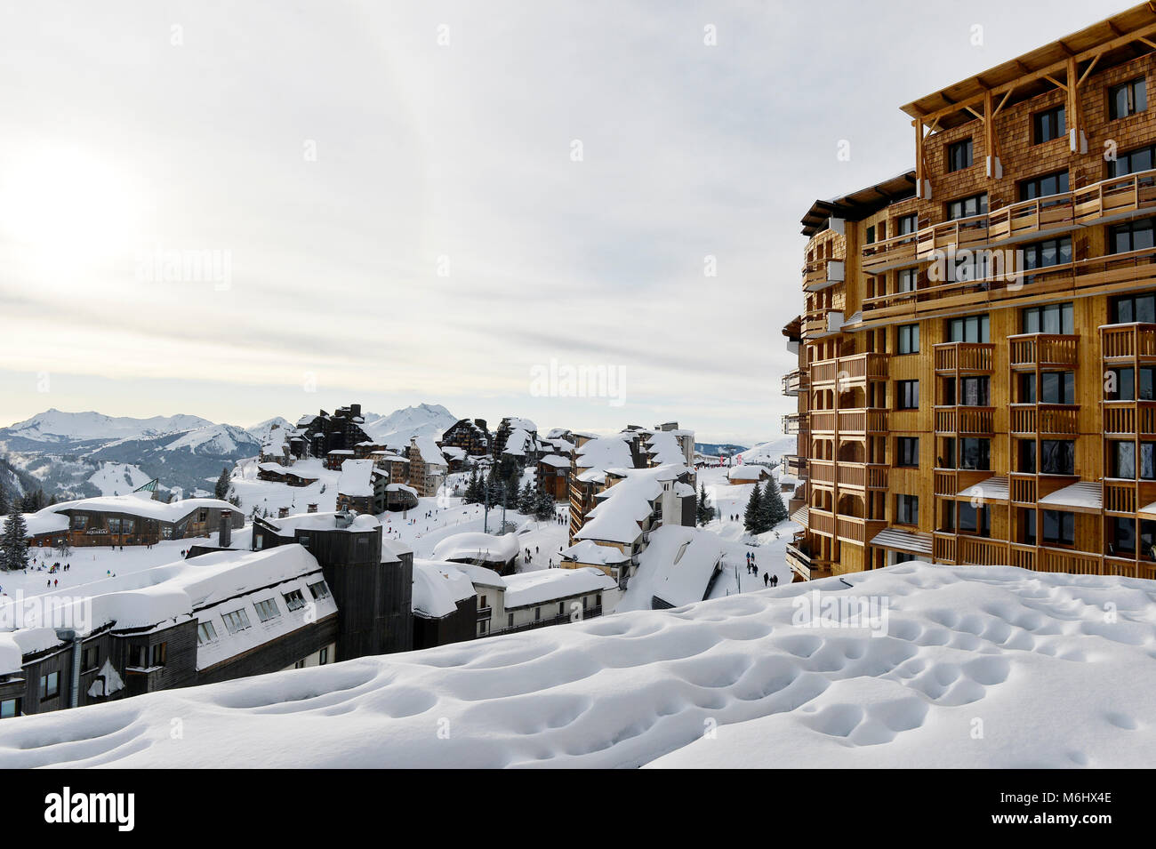 morzine ski stock photos morzine ski stock images alamy. Black Bedroom Furniture Sets. Home Design Ideas