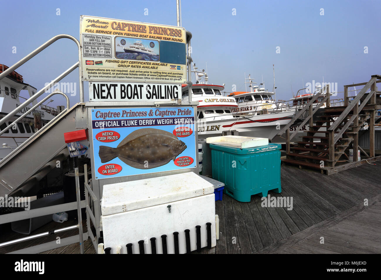 New york state fishing stock photos new york state for Charter fishing boats long island