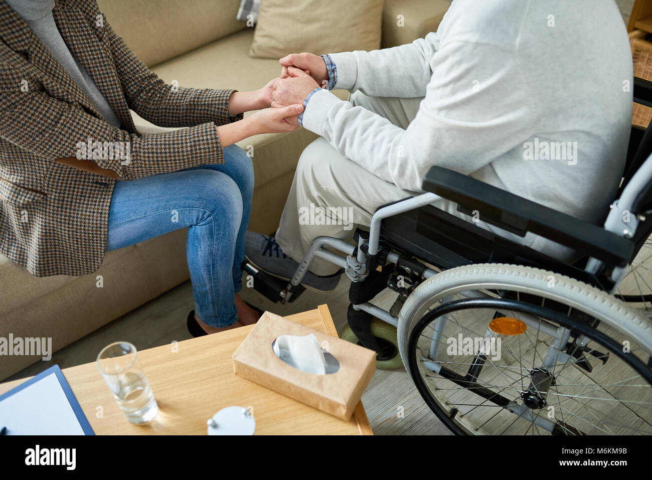 Supportive Therapy - Stock Image
