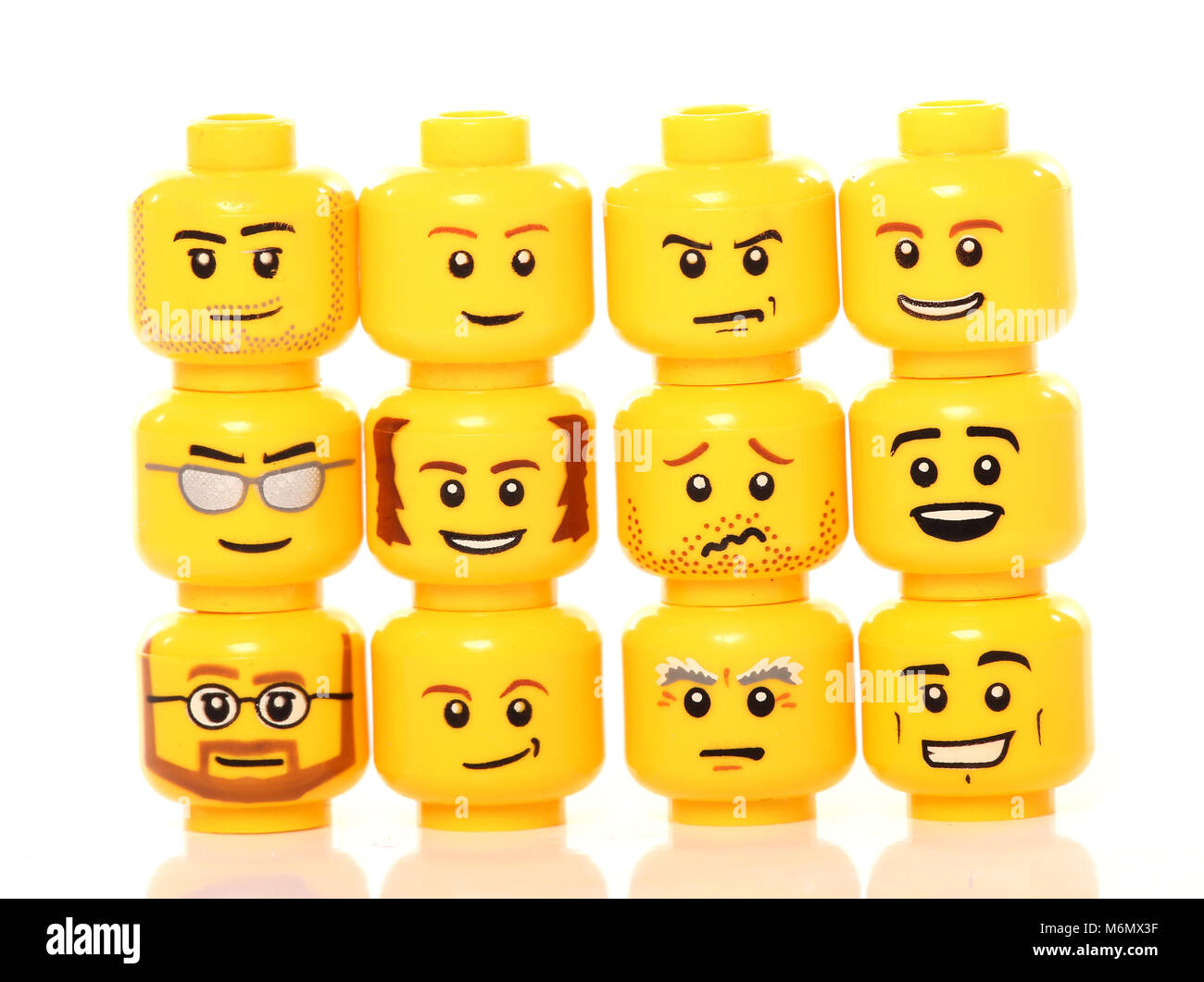 Lego Head Stock Photos Amp Lego Head Stock Images Alamy