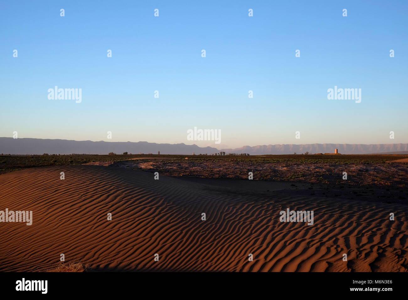 Zagora Desert, South Eastern Morocco Stock Photo