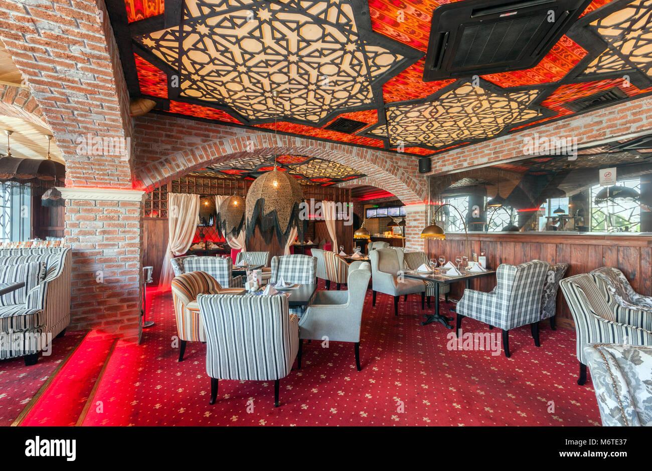 Restaurant lounge interior design architecture stock for Terrace hilton zamalek