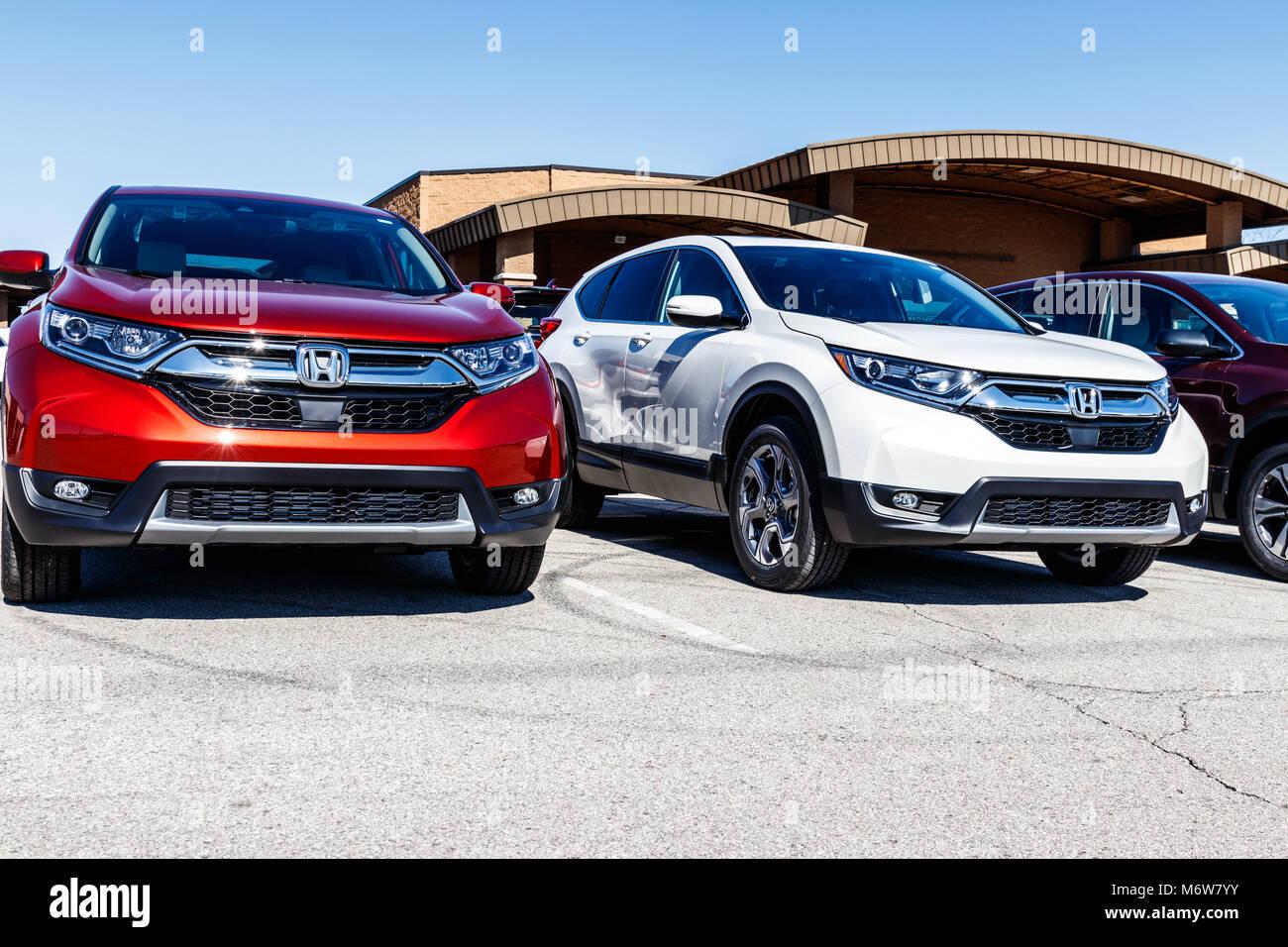 Honda cr v stock photos honda cr v stock images alamy for Honda motor company stock