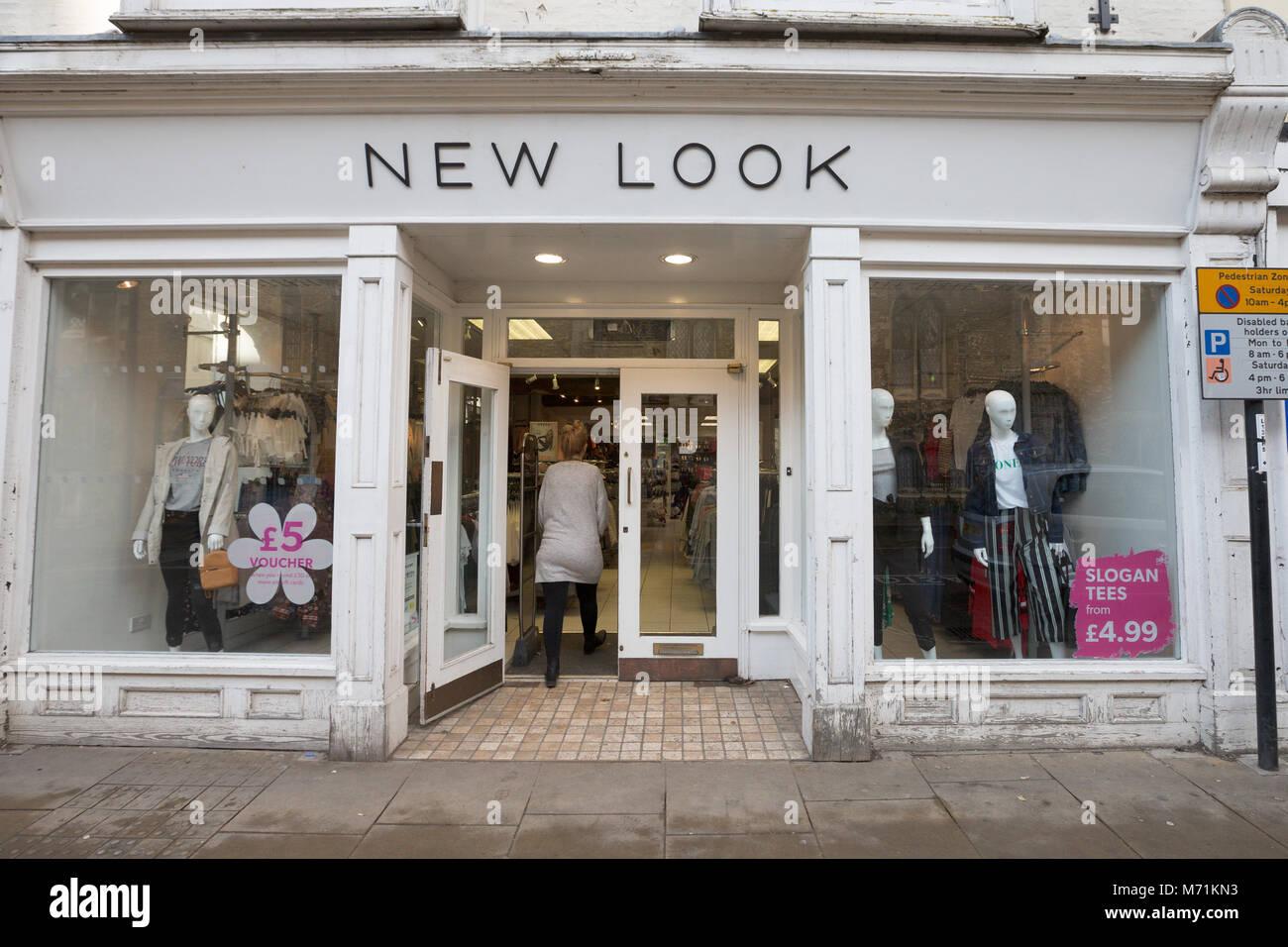 English clothing stores