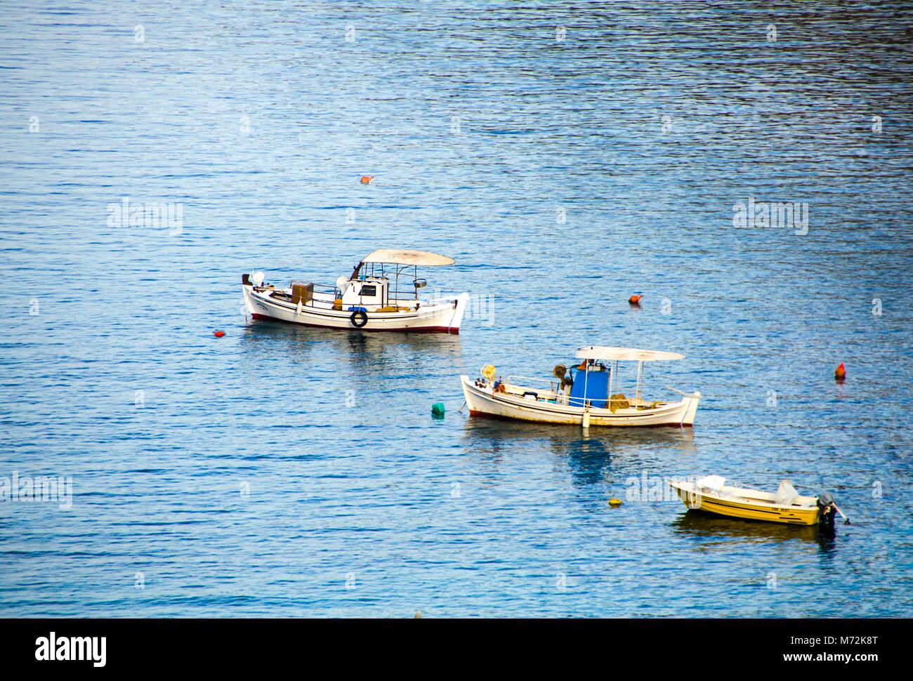 Small old wooden boat buoy stock photos small old wooden for Fishing row boats