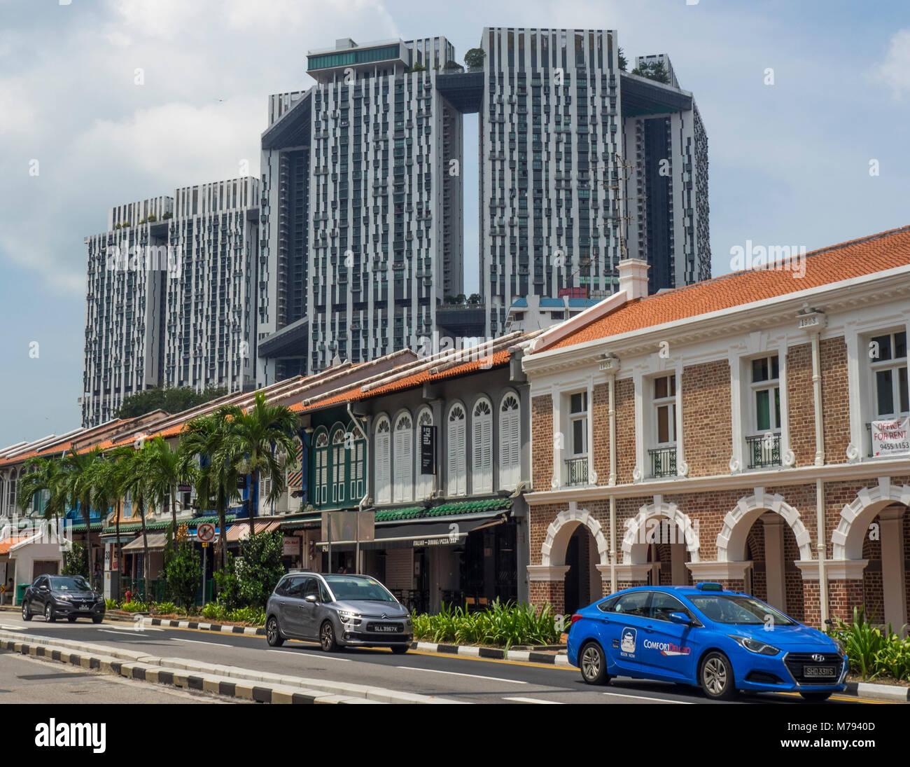 Southbridge Apartments: High Density Buildings Stock Photos & High Density