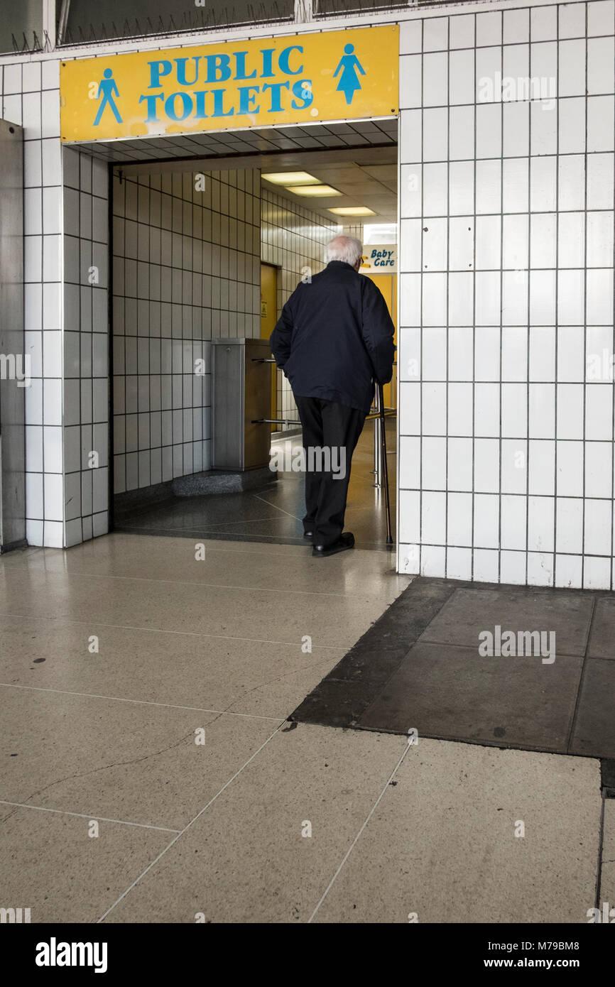 Public Bathroom Sign Men Women Door Stock Photos Amp Public