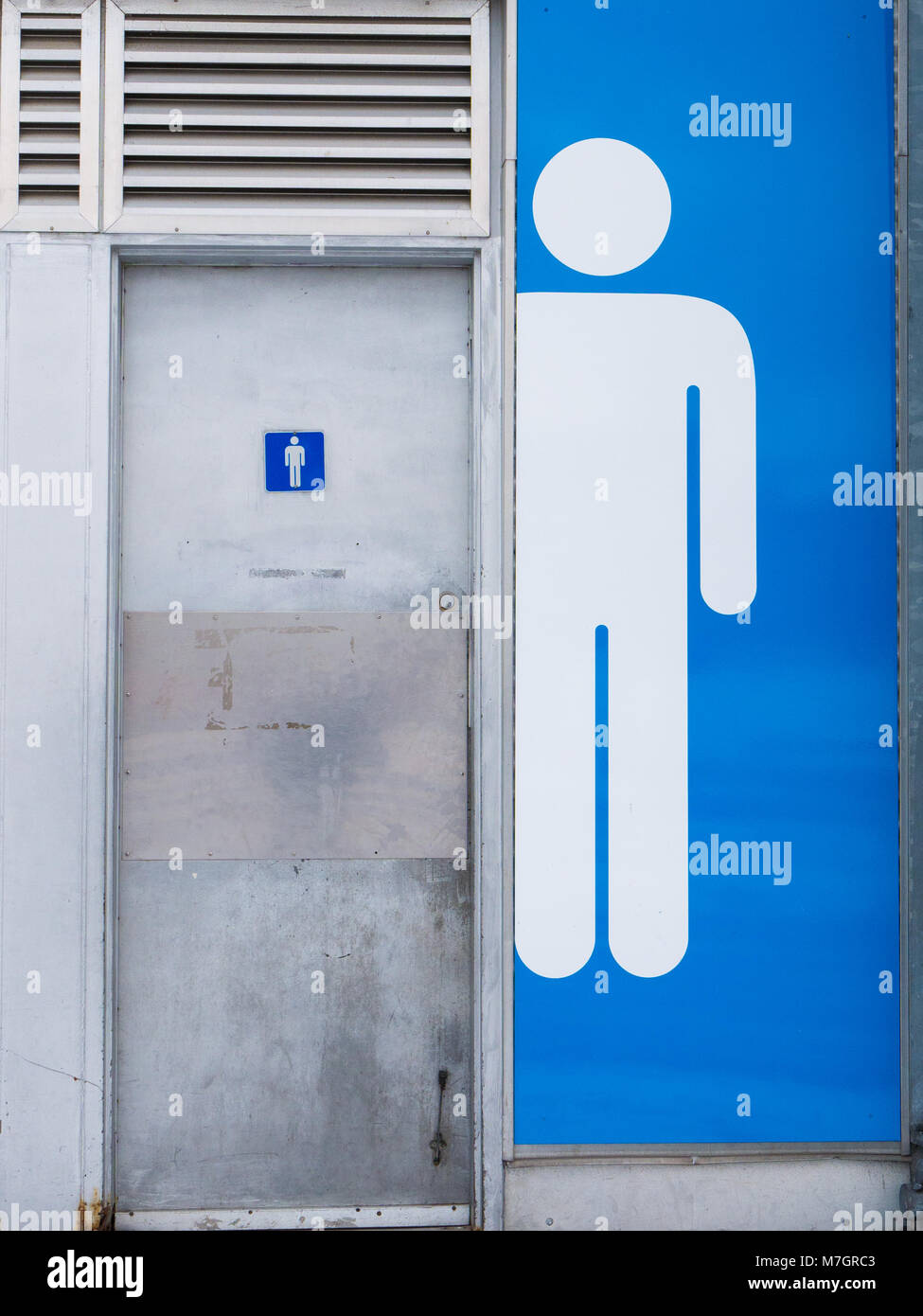 Public Bathroom Sign Men Women Door Stock Photos Amp Public