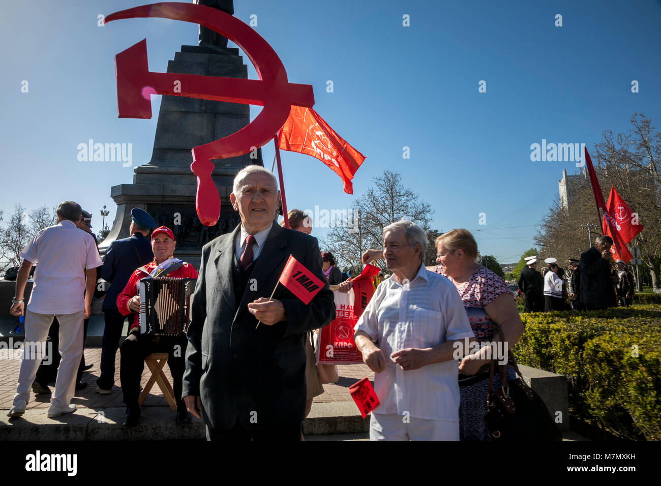 May Day procession of the Communists 99