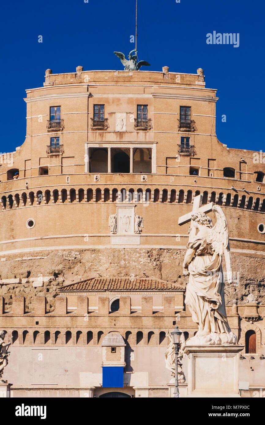Saint Angelo Castle, Rome, Italy - Stock Image