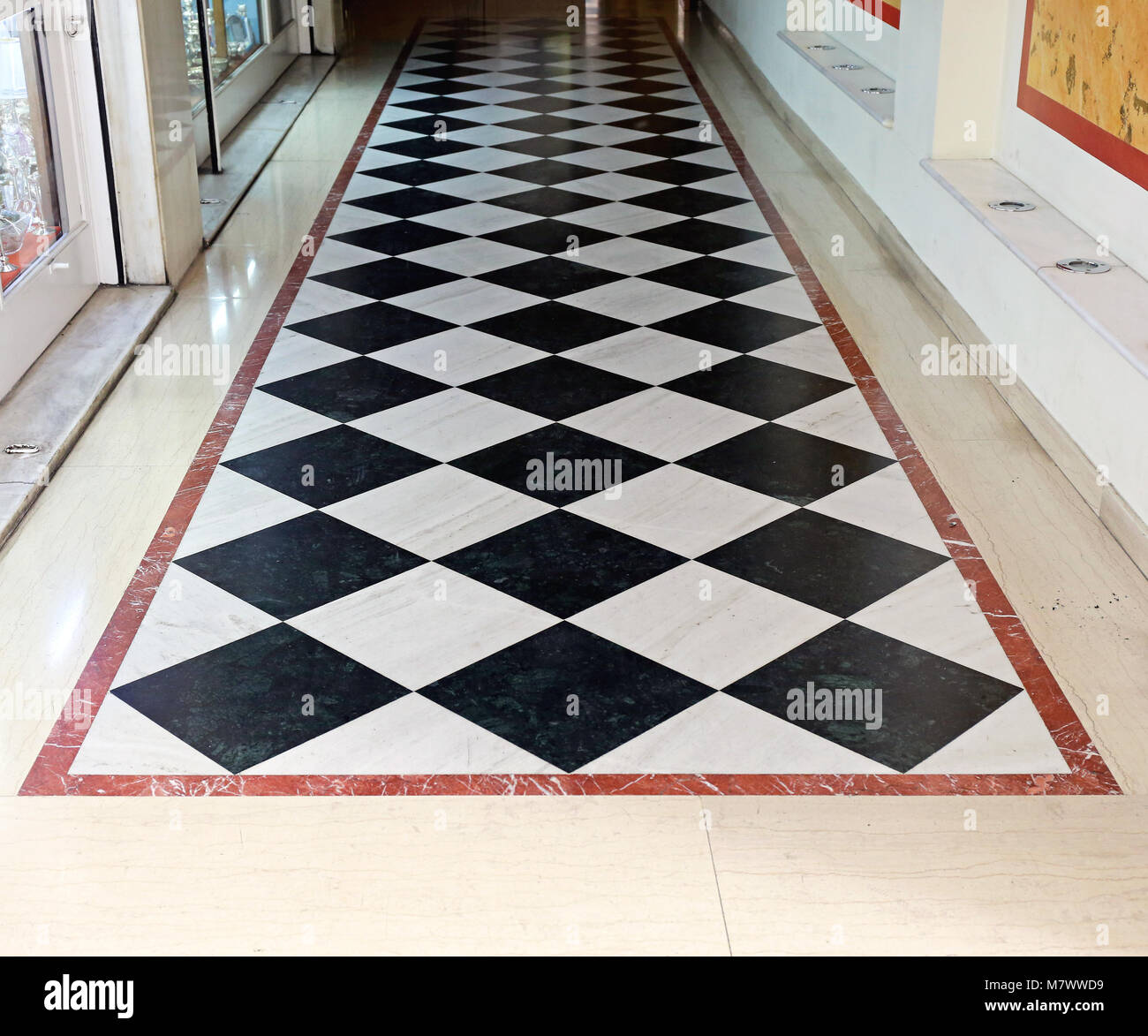 Checkered Floor Stock Photos Amp Checkered Floor Stock