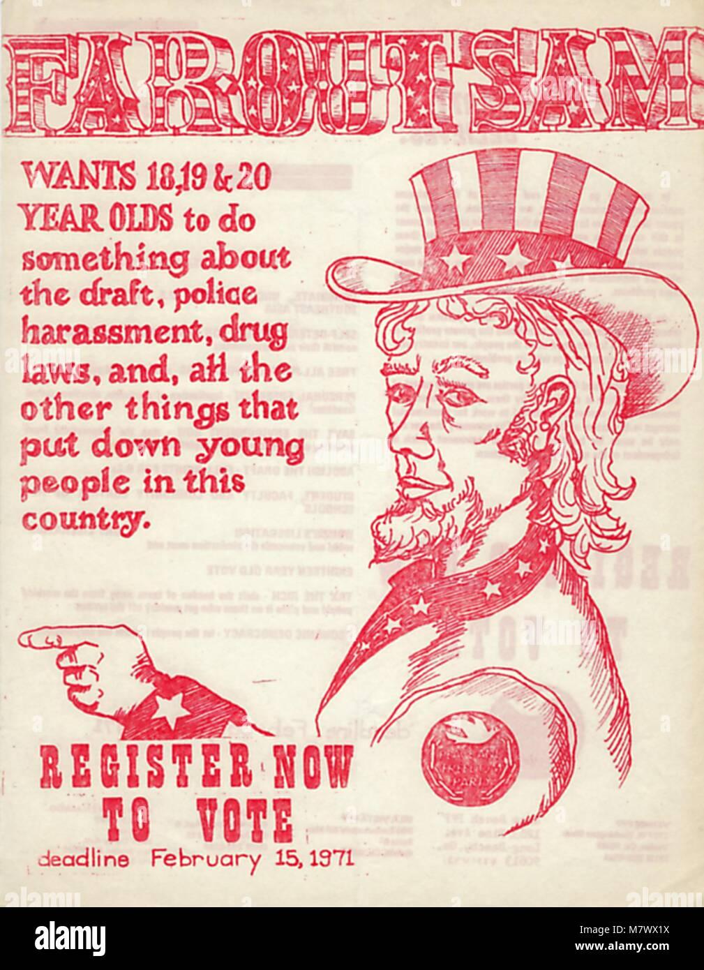 LEaflet, 1970. () - Stock Image