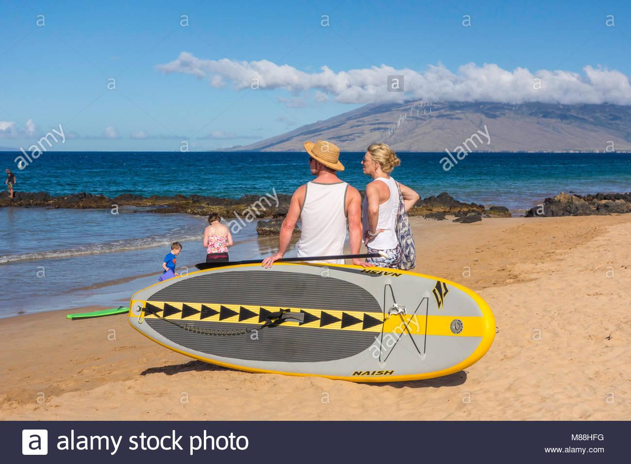 Hawaii Paddleboard Stock Photos Amp Hawaii Paddleboard Stock