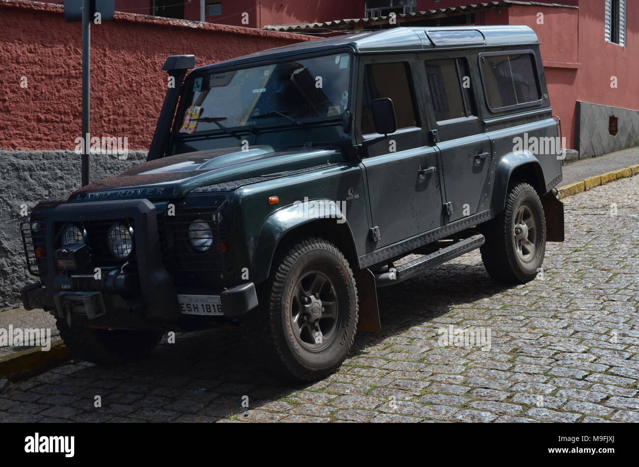 Land Rover Defender Four Wheel Stock Photos Amp Land Rover