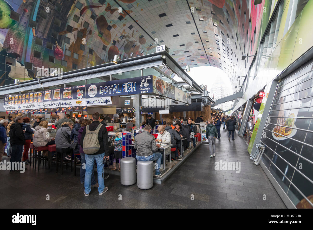 Modern indoor fish market stock photos modern indoor for Fish market albany ny