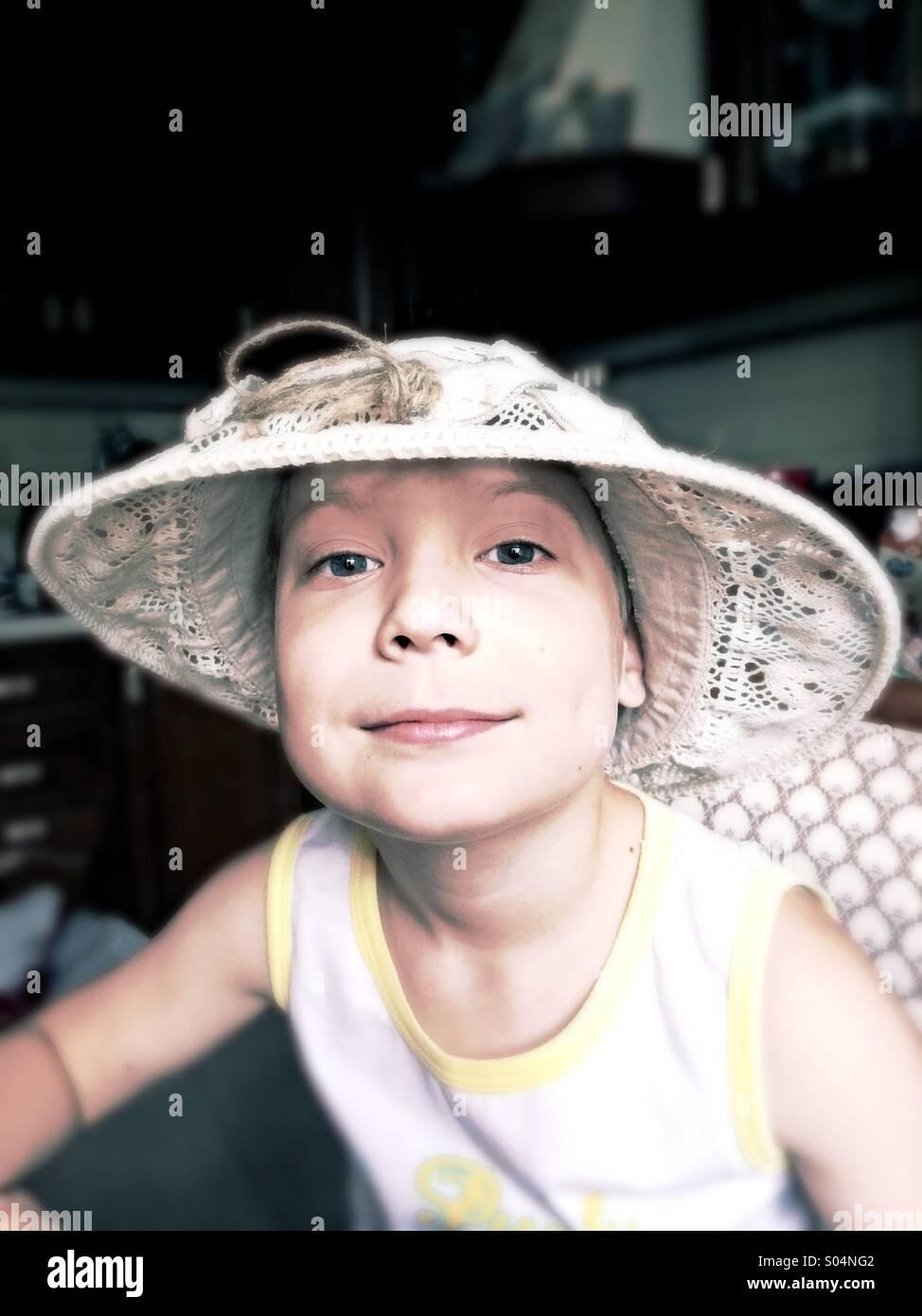 Tom Sawyer boy Stock Foto