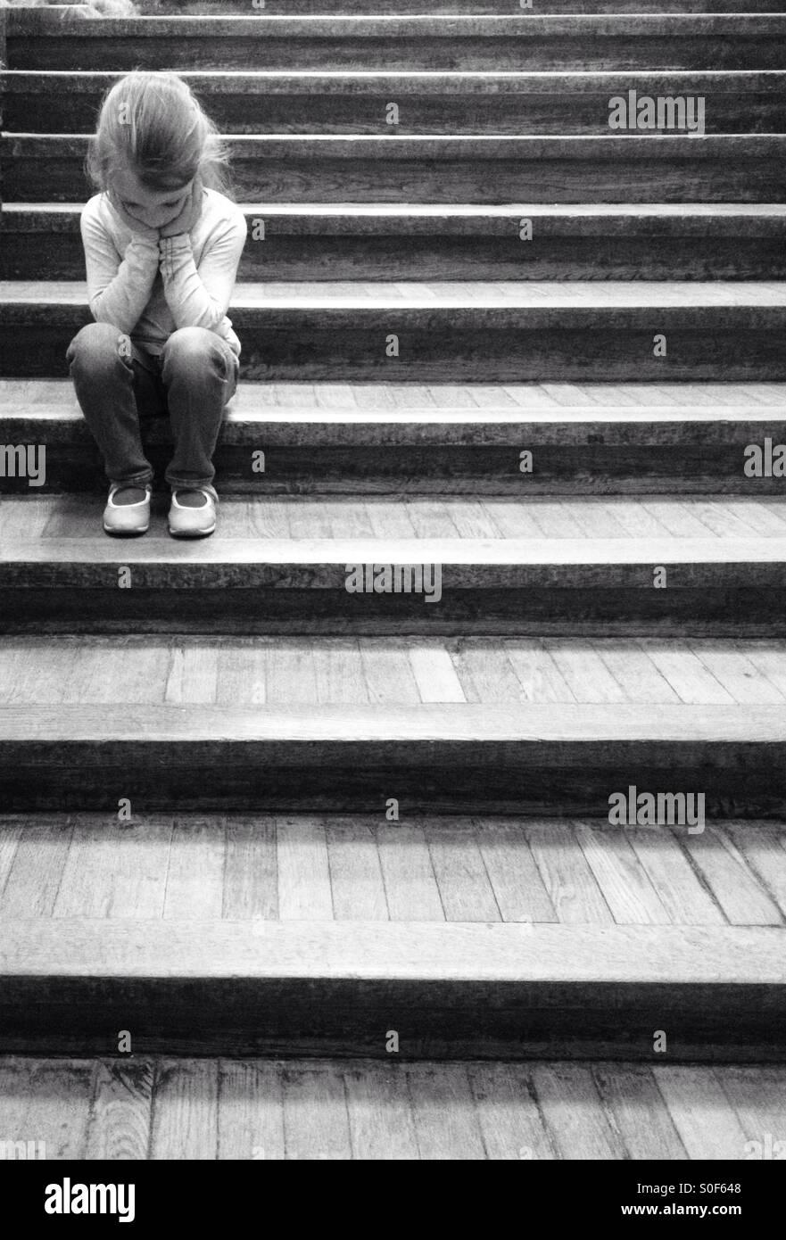 Sad child Stock Foto