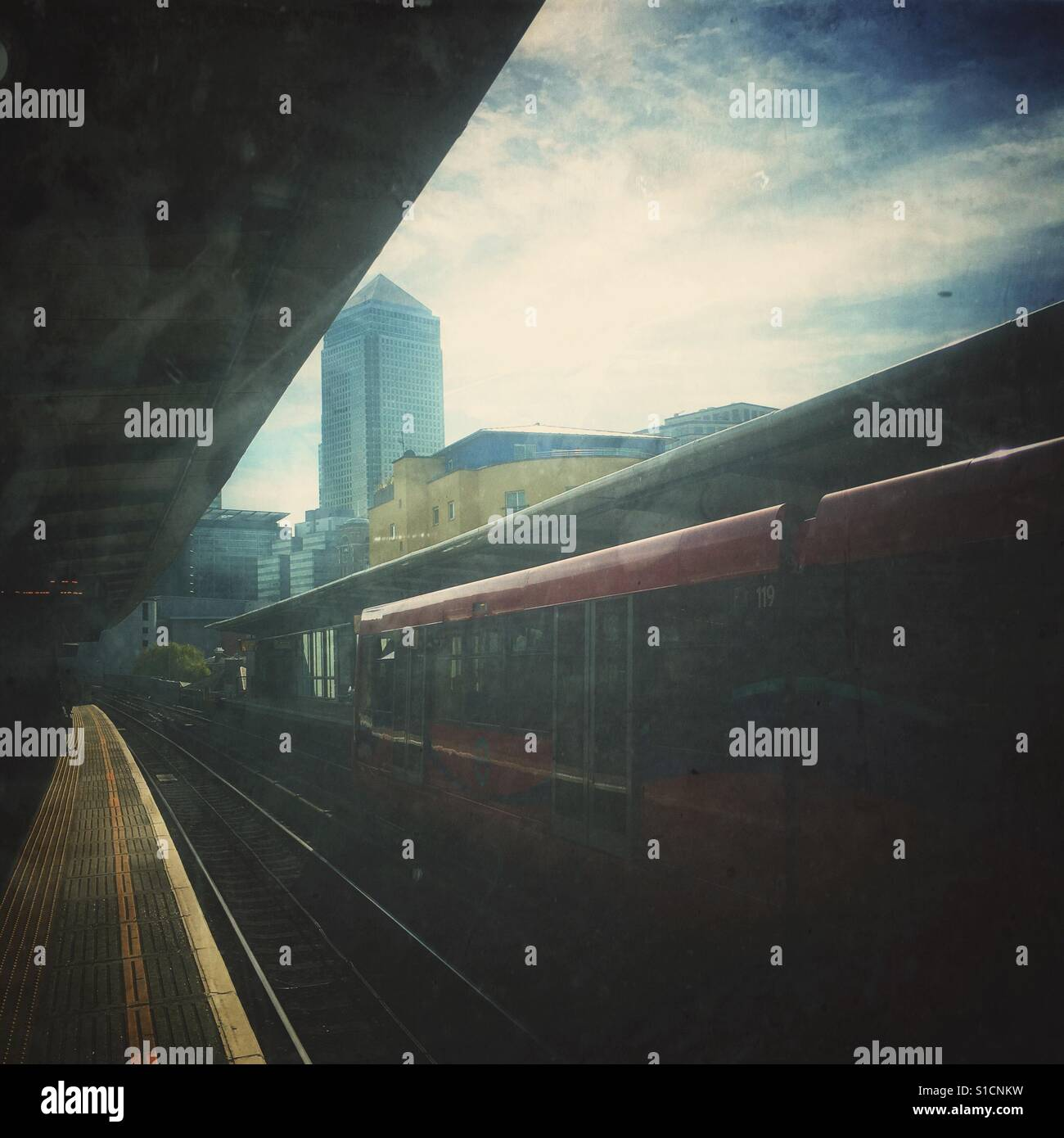 Docklands Light Railway Stock Foto