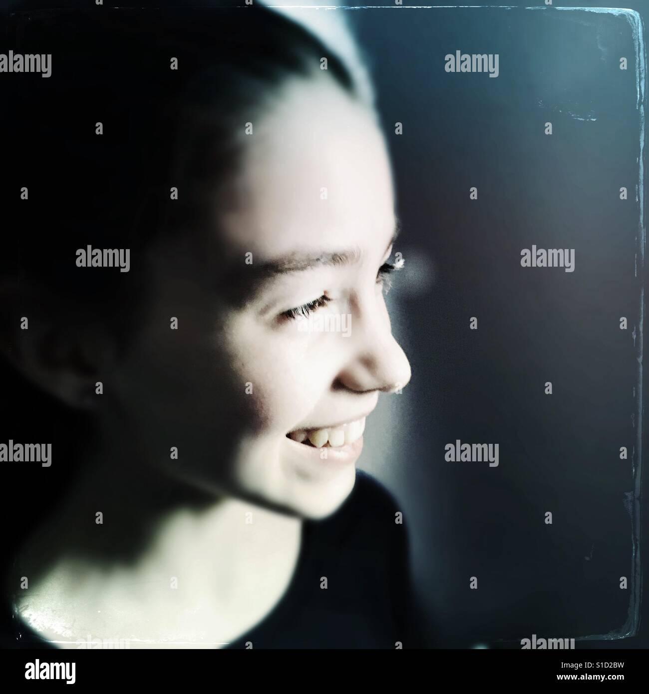 Portrait of a girl Stock Foto