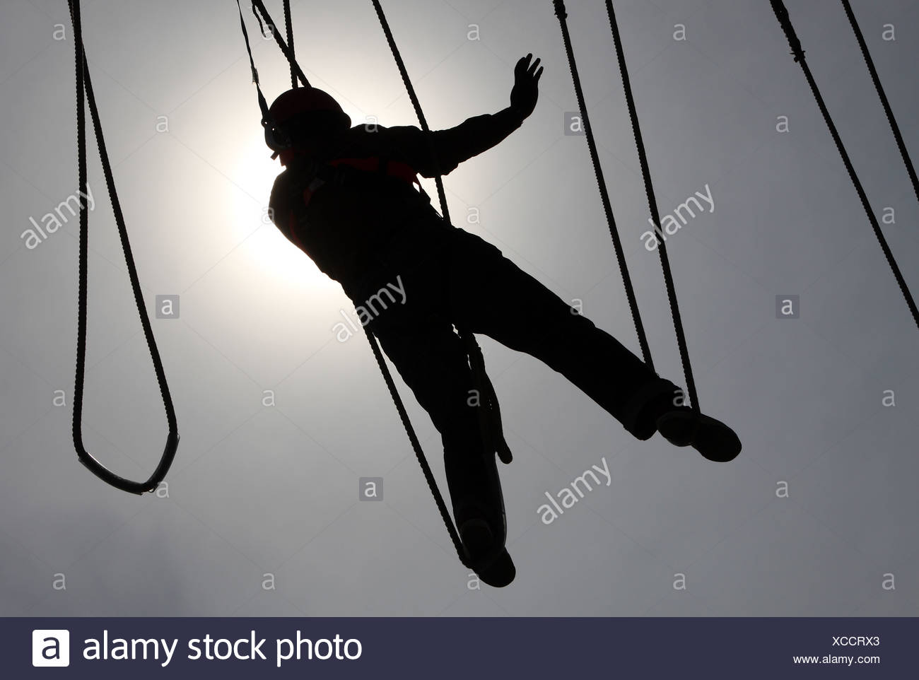 Ropes Course Stock Photos Amp Ropes Course Stock Images Alamy