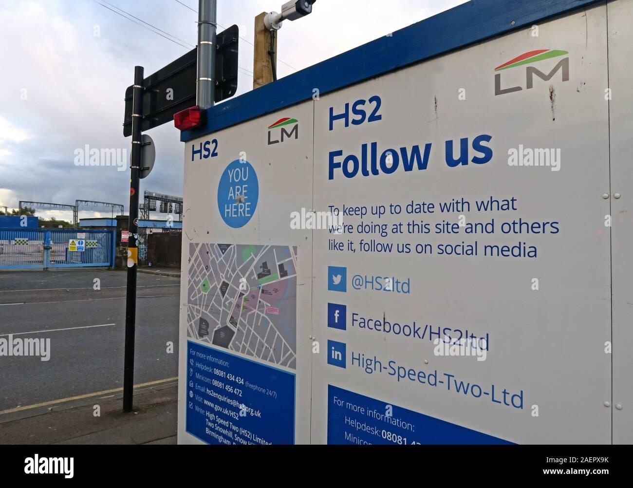 Dieses Stockfoto: Historisches Gebäude am Eingang des Bahnhofs Old Curzon Street, HS2-Entwicklung, Birmingham, Curzon Street, Birmingham, West Midlands, England, Großbritannien, B5 5LG - 2AEPX9