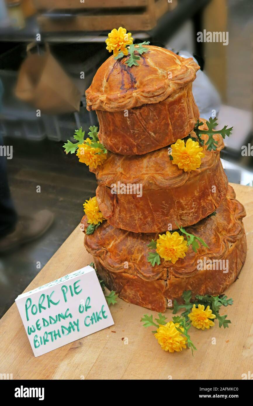 Dieses Stockfoto: Preisgekröntes Schweinepest - Bridgwater Food And Drink Festival, April 2019 - Bridgwater Town, Somerset, South West England, Großbritannien - 2AFMKC