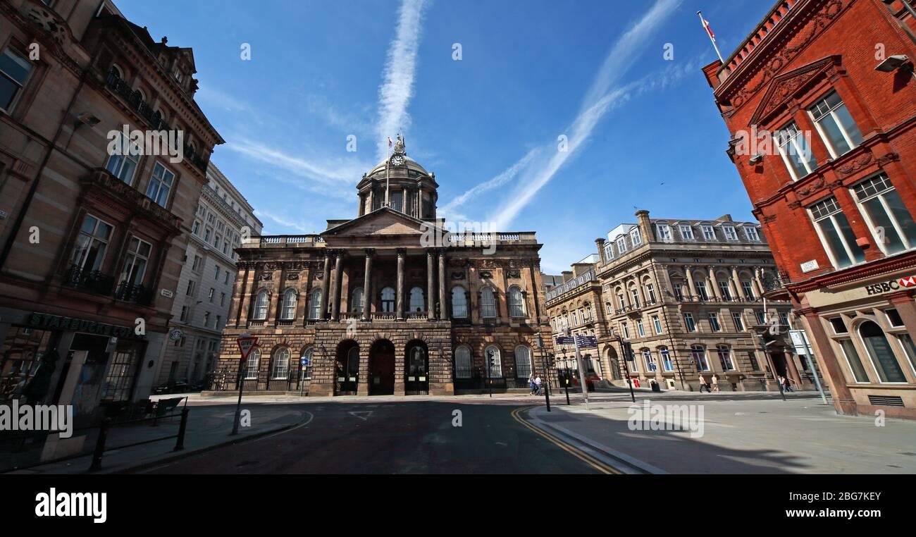 Dieses Stockfoto: Castle Street, Panorama, Liverpool, Merseyside, England, Großbritannien, L2 3SW - 2BG7KE