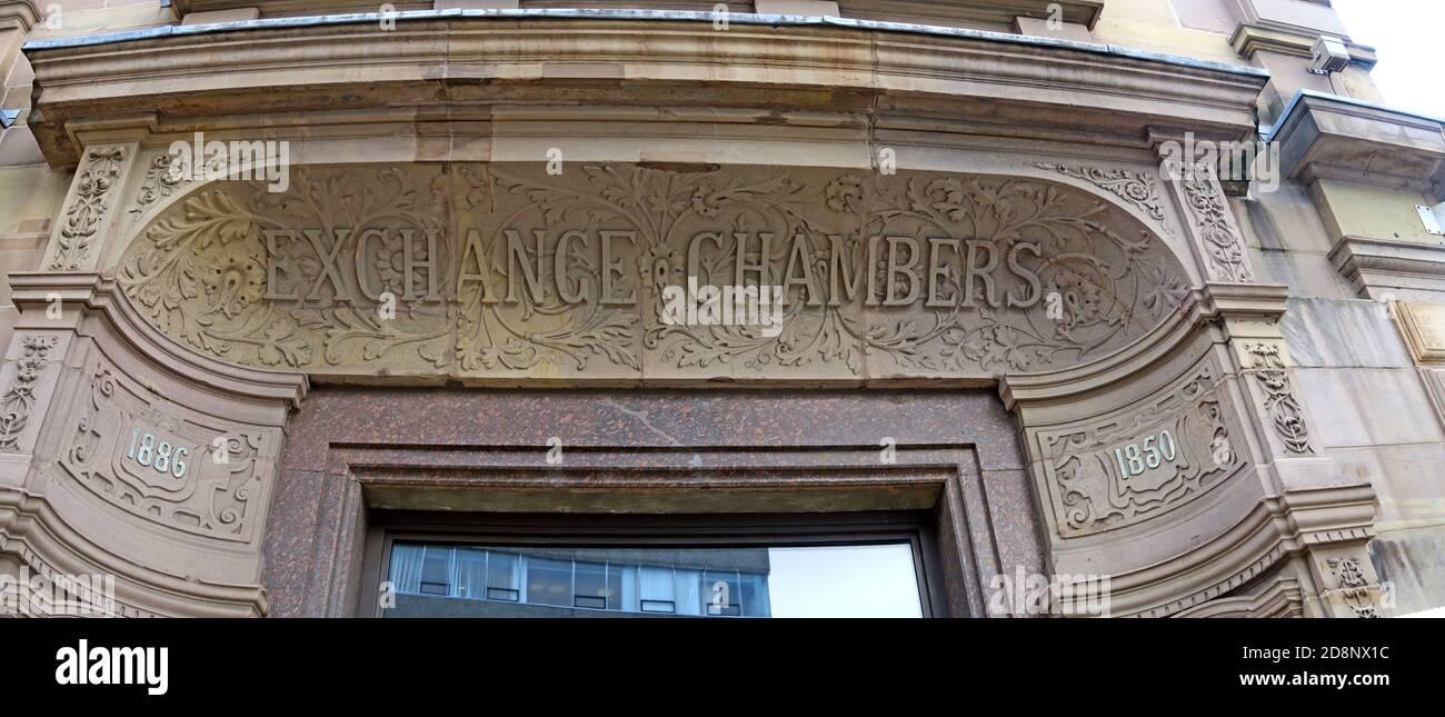 Dieses Stockfoto: Exchange Chambers, Liverpool, Merseyside, England, Großbritannien - 2D8NX1