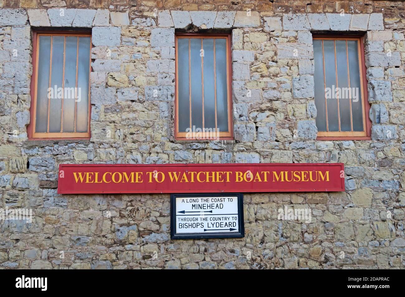 Dieses Stockfoto: Watchet Boat Museum, Watchet Visitor Center, Harbour Rd, Watchet TA23 0AQ - 2DAPRA
