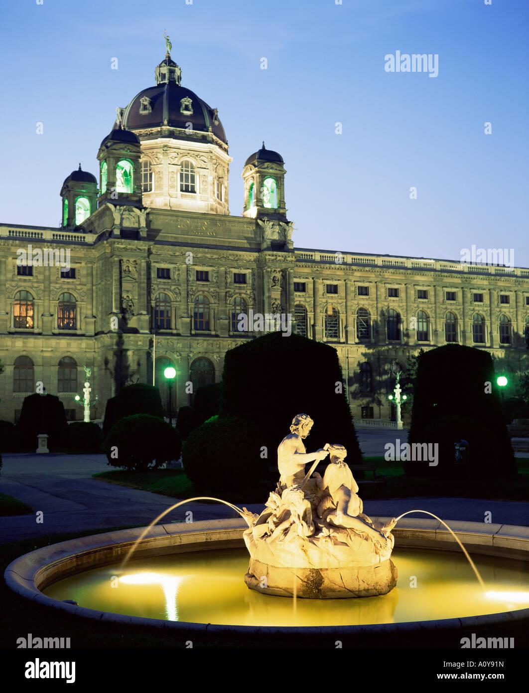 Natural History Museum Vienna Austria Europe Stockbild
