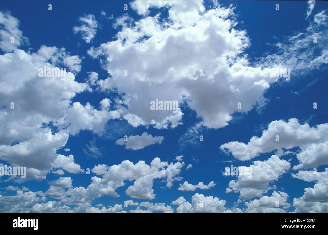 Himmel nördlichen Territorien Australien Stockbild