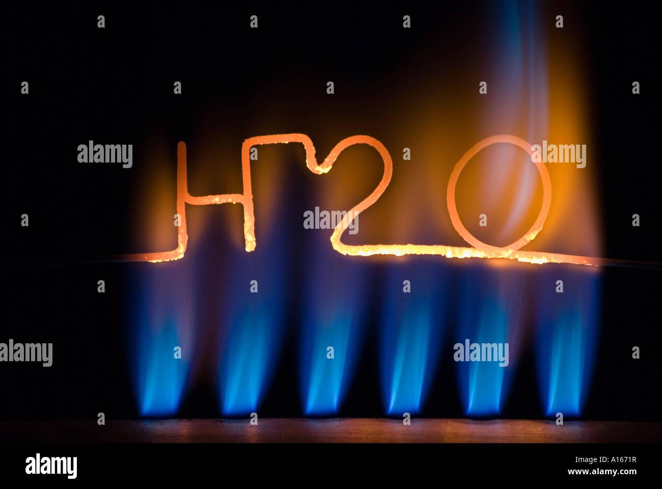 H2O 01 Stockbild