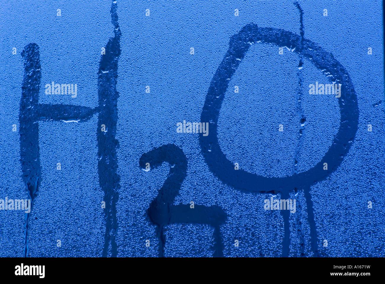 H2O 03 Stockbild