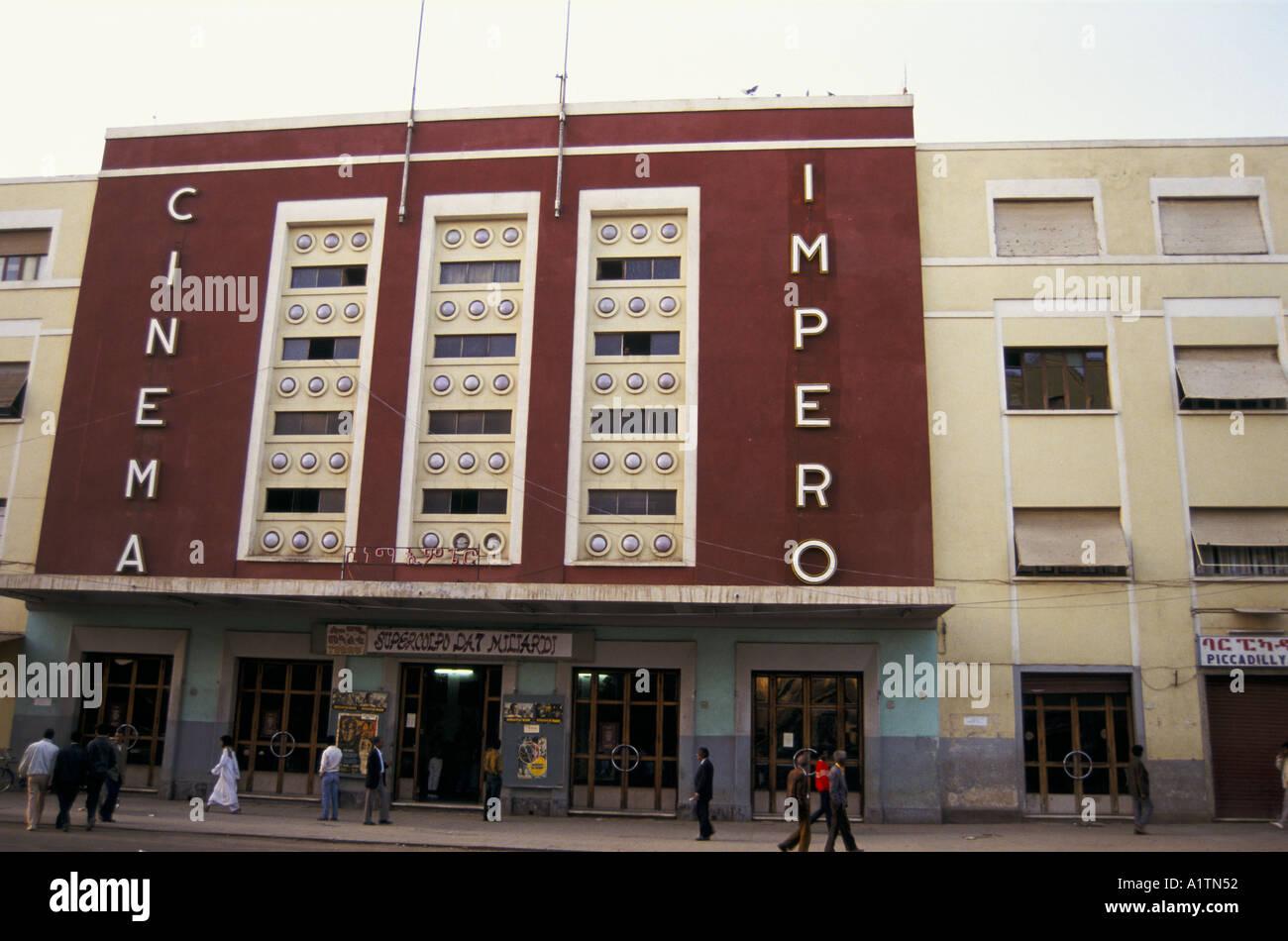 KINO IMPERO ERITREA 1993 Stockbild