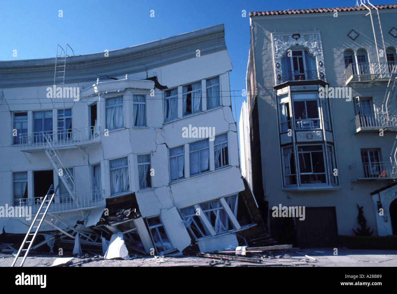 Erdbeben San Francisco 1989 Stockfoto Bild 166793 Alamy