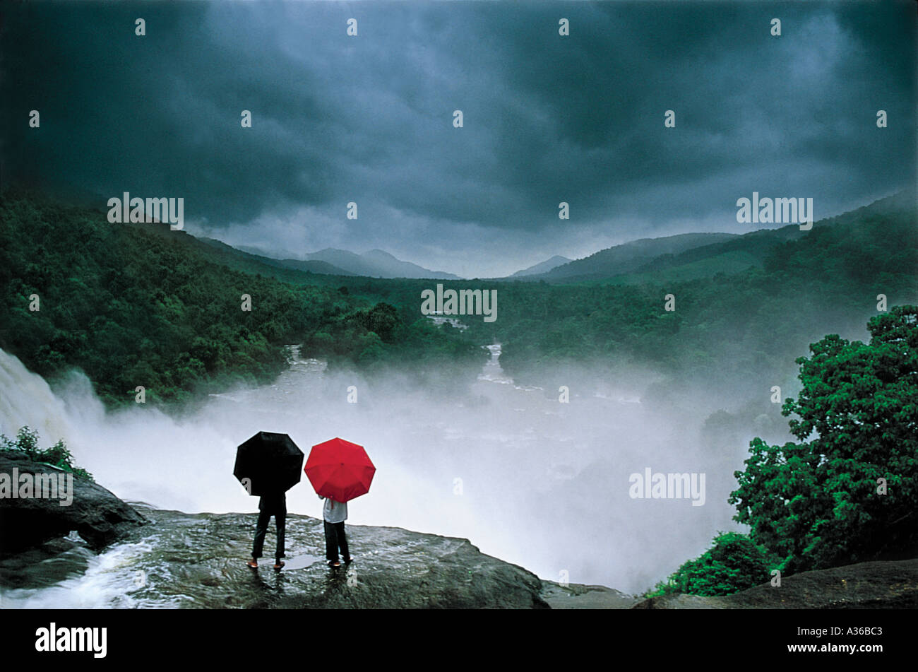 Monsun-Stimmungen Stockfoto