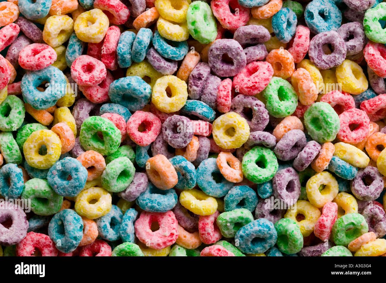 Colorfull Frühstück beforehand Stockbild