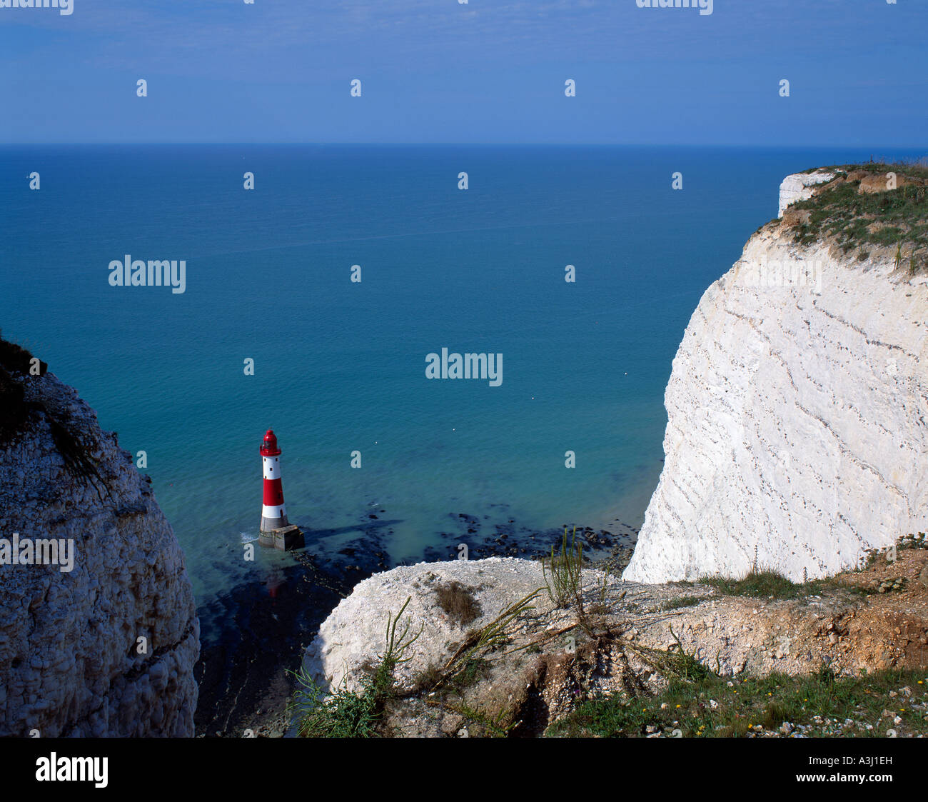 Beachy Head East Sussex England UK Stockbild