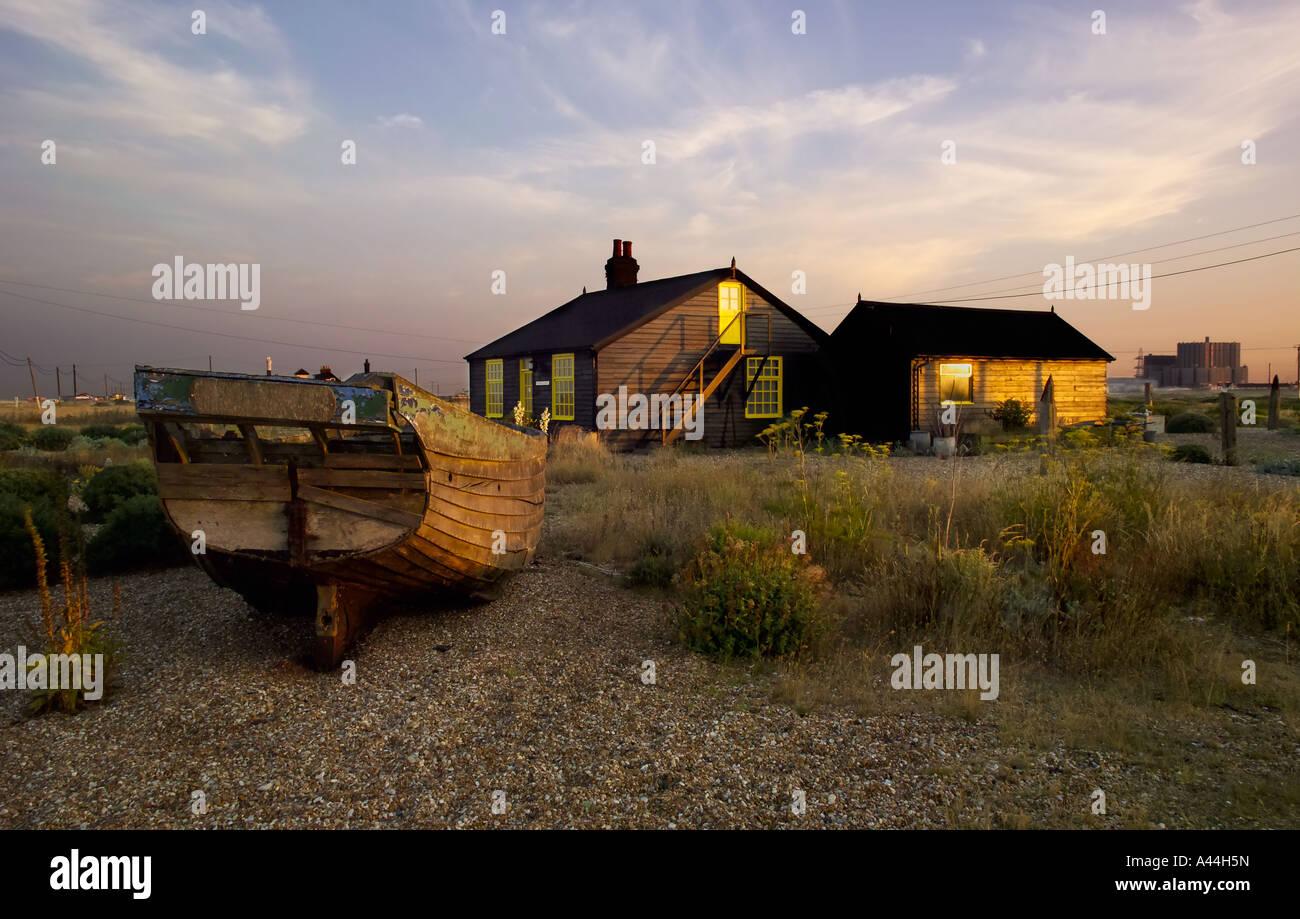 Prospect Cottage, Dungeness, Kent, UK Stockbild