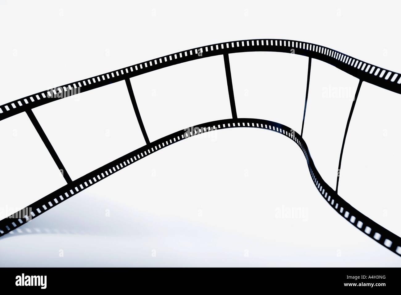 Leere Filmstreifen Stockbild